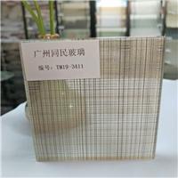 廣州夾絲玻璃 售樓部屏風夾絲玻璃 酒店夾絲玻璃