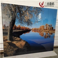驻马店市玻璃移门5D背景墙打印机