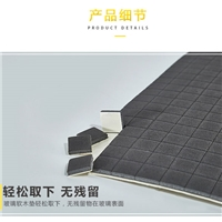 橡膠玻璃墊黑色玻璃墊替代玻璃軟木墊產品EVA墊5+1mm