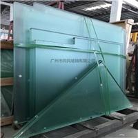 防滑玻璃 踏板防滑玻璃 八字型圆点防滑玻璃