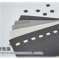橡膠玻璃墊黑色玻璃墊替代玻璃軟木墊產品EVA墊帶膠5mm