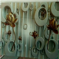 玻璃陶瓷背景墙uv浮雕打印机