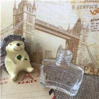 5ml扁形指甲油瓶扁形玻璃指甲油瓶\厂价现货供应