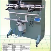 沧州市丝印机厂家软管铁管丝网印刷机鱼竿球杆印刷机