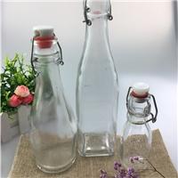 泡酒玻璃瓶子密封罐带盖酿酒瓶果酒瓶葡萄酒瓶空瓶