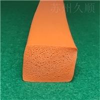硅胶海绵平板条 机械设备垫条配件