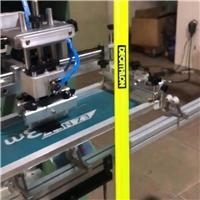 软管铁管丝网印刷机鱼竿丝印机高尔夫球杆网印机