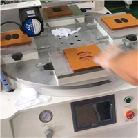 手机玻璃丝印机亚克力标牌丝网印刷机塑料外壳网印机