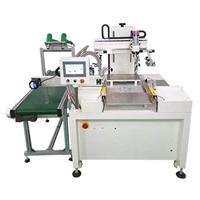 湖州玻璃面板丝印机薄膜按键开关丝网印刷机