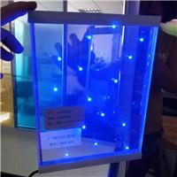 广州光电玻璃 LED发光玻璃 通电发光玻璃