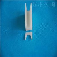 白色U型硅胶密封条 照明设备包边封边密封条