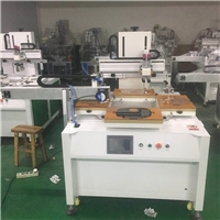 玻璃镜片丝印机亚克力面板丝网印刷机机器标牌网印机