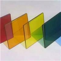 彩色玻璃 钢化七彩玻璃