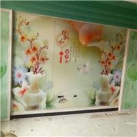玻璃艺术画背景墙5D平板打印机
