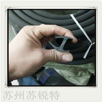 工字地板接縫壓邊條軟PVC膠條
