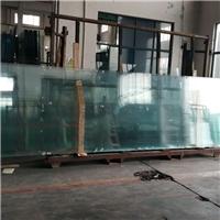 江苏厂家批发超大板钢化玻璃19mm