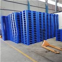 包装托盘1210网格田字垫仓板货物堆码叉车托盘厂家