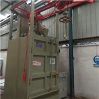 框架焊渣处理喷砂机吊钩式抛丸机设备