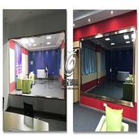 广州驰金单反玻璃单面可视玻璃单透玻璃厂家