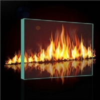 高强度单片防火玻璃非隔热型