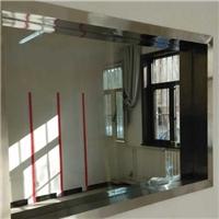 云南辨认室玻璃隔断单向透视玻璃不雅察窗