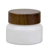 青岛采购-玻璃白瓷膏霜瓶