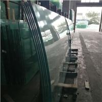 15mm超白弯钢化玻璃