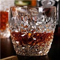 高等晶白料玻璃杯 洋羽觞 红羽觞