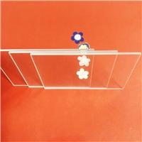 穿透性极高的超白玻璃 钢化玻璃厂家 3天出货