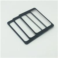 3.2mm刷卡区丝印玻璃 物理全钢化 纸盒包装丝印玻璃厂