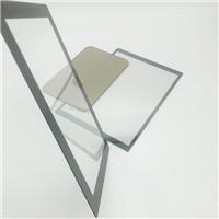 高清无尘360度圆形镀膜玻璃 可钢化的镀膜玻璃厂