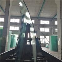 江苏玻璃厂家15.19mm平弯钢化