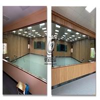 馳金玻璃單向可視玻璃鋼化玻璃價格