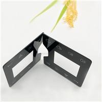 精雕细琢半透直射丝印玻璃 多功能触控丝印钢化玻璃