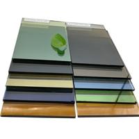 建筑用欧洲灰浅灰镀膜玻璃