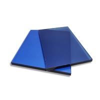 供应4mm宝石蓝玻璃厂