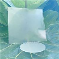 2mm常規朦朧半透蒙砂玻璃 單面兩層蒙砂鋼化玻璃