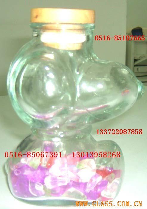 卡通玻璃瓶 罐