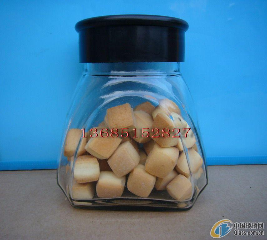 【批发供应饼干专用玻璃瓶】价格,厂家,图片,其他玻璃包装容器,徐州