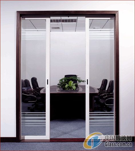 有框玻璃门-北京有框玻璃门-北京建苑铁艺卷帘门窗厂