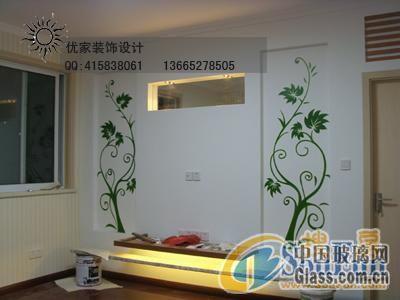 手绘背景墙 3-景德镇手绘背景墙 3-安彩室内门-中国
