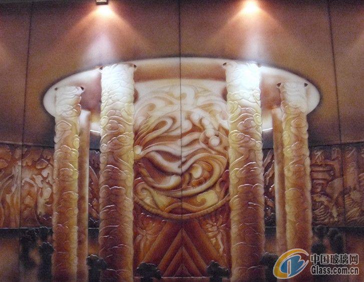 雕刻玻璃-北京雕刻玻璃-北京北玻阳光玻璃有限公司