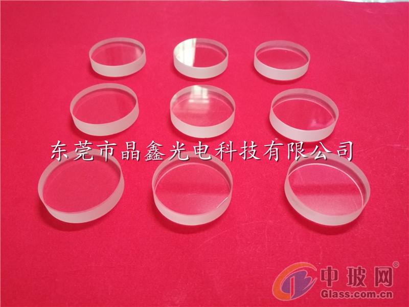真空设备用10mm厚耐压石英玻璃片