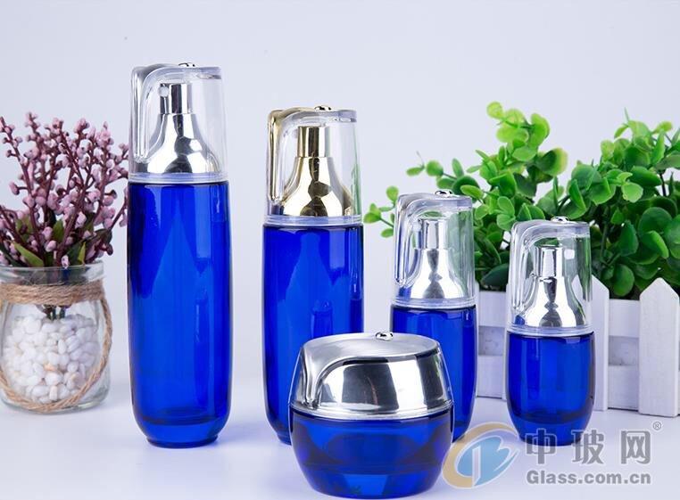 化妆品套装瓶生产厂家  玻璃瓶生产厂家 护肤品瓶子生产厂家