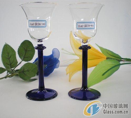 供应玻璃手工工艺酒杯