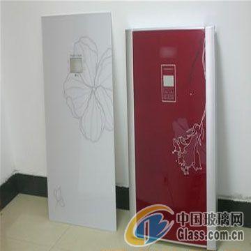 供应彩晶玻璃面板 冰箱门,空调面板