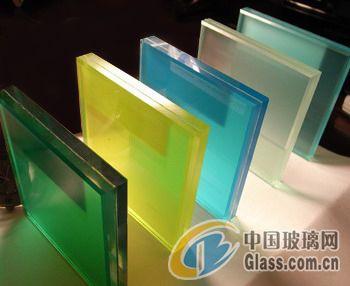 供应彩色夹胶玻璃