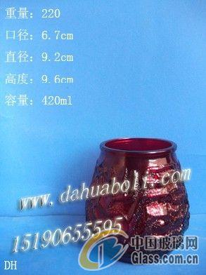 喷漆玻璃烛台|徐州蜡烛杯|工艺玻璃烛台