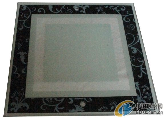 供应较薄2.8MM可达全钢效果的灯饰玻璃