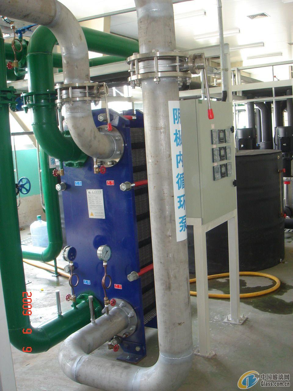 镀膜玻璃生产线工业冷却水系统成套设备